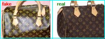 Shape The Sdy Bag On Right Hand Side Is Authentic Louis Vuitton When Directly Compared To Fake