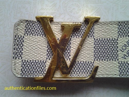 Louis Vuitton Belt Fake